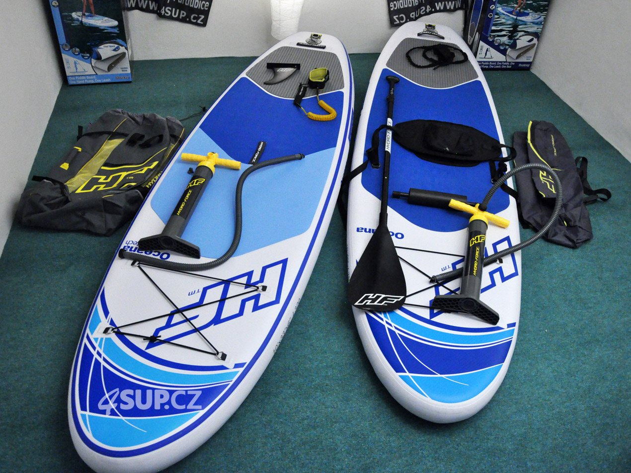 Testujeme paddlebordy HYDRO FORCE
