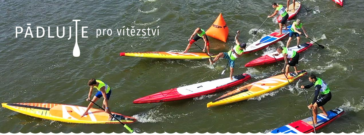 Stand Up Paddleboard na moři