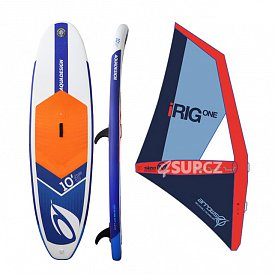 AQUADESIGN Ibrid 10'8 windsup ARROWS iRIG komplet - nafukovací paddleboard a windsurfing