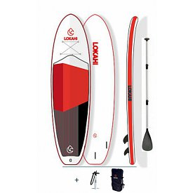 LOKAHI W.E.Enjoy Red PLUS 10'6'' - nafukovací paddleboard