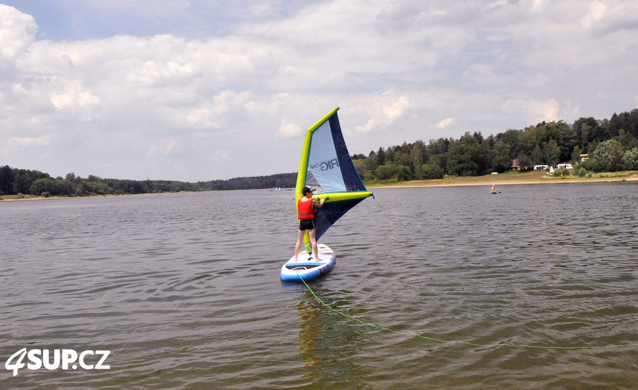 F2 Wave 10'5 Red WindSUP s pádlem - nafukovací paddleboard a windsurfing