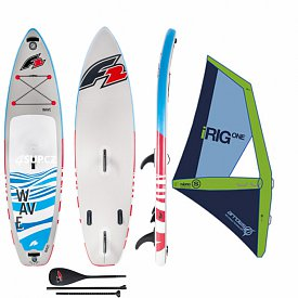 F2 Wave 10'5 WindSUP ARROWS iRIG komplet - nafukovací paddleboard a windsurfing