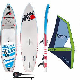 F2 Wave 11'5 WindSUP ARROWS iRIG komplet - nafukovací paddleboard a windsurfing