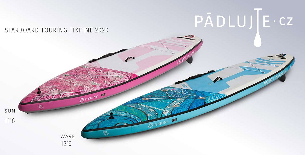 STARBOARD TIKHINE TOURING DELUX- nafukovací paddleboard