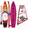 AZTRON SOLEIL XTREME 12'0 WindSUP F2 CHECKER RIG komplet - nafukovací paddleboard a windsurfing