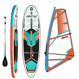 Paddleboard STX WS Freeride 10'6 WindSUP MINT/ORANGE STX PowerKid komplet - nafukovací paddleboard a windsurfing