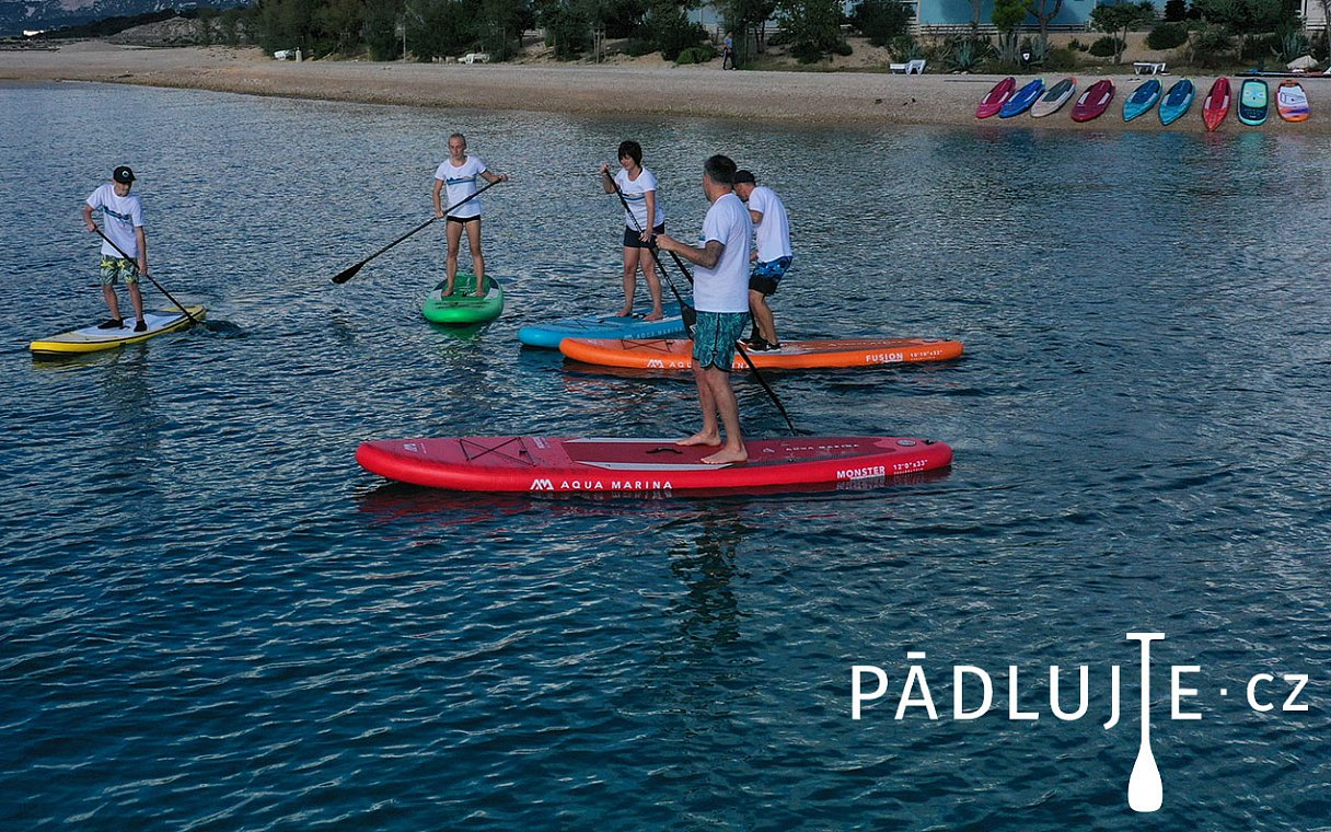 Paddleboardy AQUA MARINA modely ALL-AROUND 2021