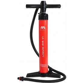Pumpa AQUA MARINA LIQUID AIR V1 DOUBLE ACTION - univerzální pumpa k paddleboardu