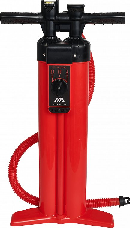 Pumpa AQUA MARINA LIQUID AIR V3 TRIPLE ACTION - univerzální pumpa k paddleboardu